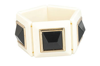 Luxe pyramid bracelet from Forever21.com, $6.80