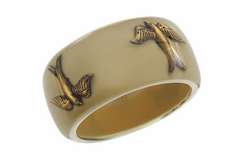 Swallow trap bangle from Topshop.com, $28