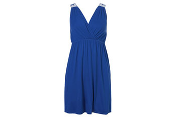 Embroidered back dress from Forever21.com, $13.50