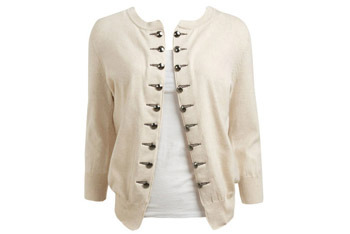 Military button cardigan from WetSeal.com, $19.50