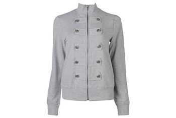 Military zip up jacket from Forever21.com, $22.80