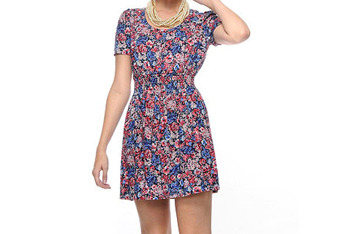 Garden woven dress from Forever21.com, $17.80