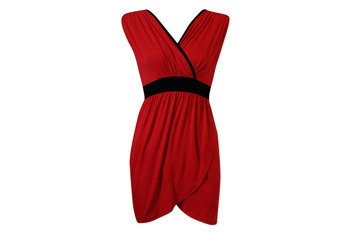Solid trims tulip dress from Forever21.com, $18