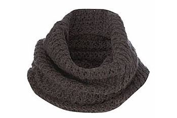 Grey knitted snood from NewLook.com, $12