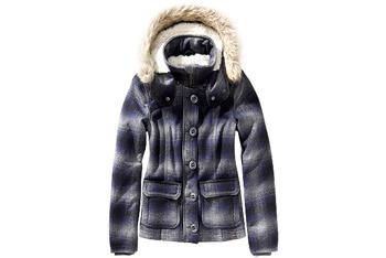 Plaid bomber jacket from GarageClothing.com, $59.90