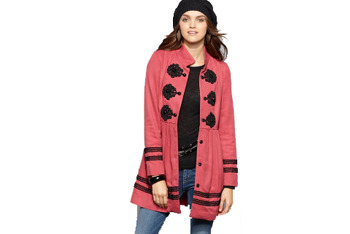 Rampage long sleeve toggle jacket from Macys.com, $69