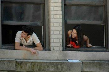 Heather and co-star Ryan Glassman in Jeremy Fink.