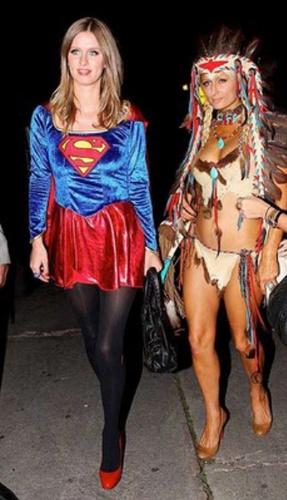 Paris and Nicky Hilton love Halloween