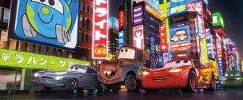 Finn McMissile, Mater and Lightning McQueen