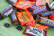 Preview halloween chocolate bars pre