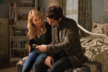 Cassie and Thomas get close when she shows him her mom's book of shadows