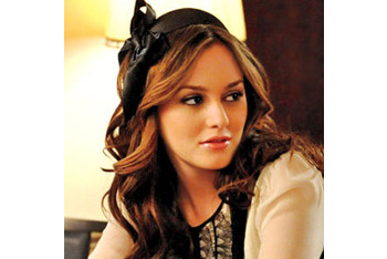 Blair can pull together any outfit with a simple headband
