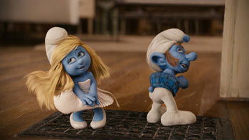 Smurfette and Gutsy