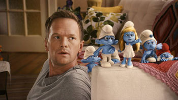 Neil Patrick Harris and The Smurfs
