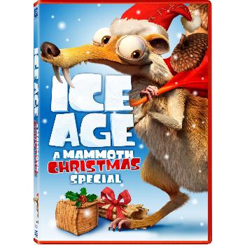 Ice Age: A Mammoth Christmas DVD