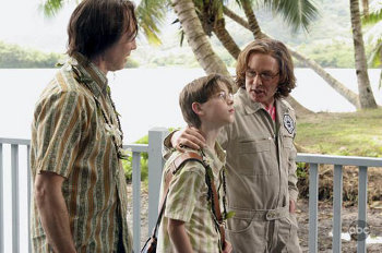 """Sterling guest starred on Lost as """"Young Ben"""""""