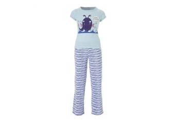 Stripey shark pajamas, $10, at NewLook.com