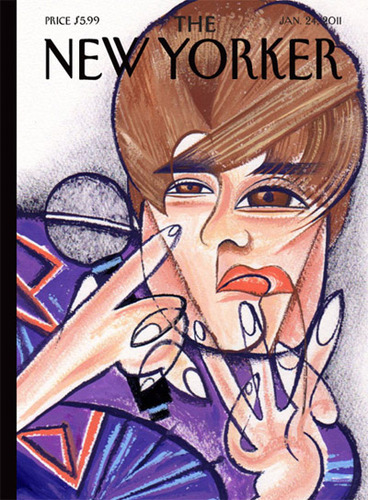 This New Yorker cover's cool - but a fake!