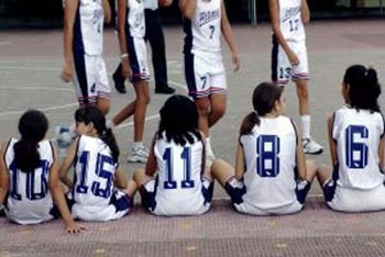 Basketball Team Blues