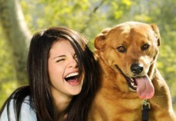 It's A Dog's Life: Selena has  4 dogs at home!