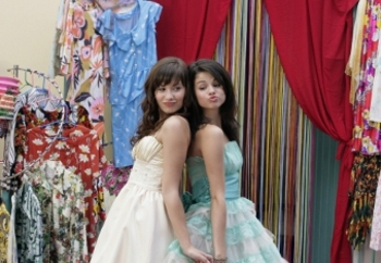 Two Princesses: Selena with her BFF Demi