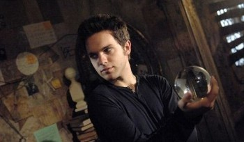 Thomas plays Adam Conant on the CW, a witch in the town of Chance Harbor