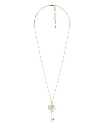 Key Necklace, $6 at Forever 21