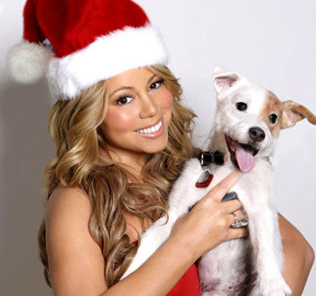 Mariah's Merry Christmas featured her holiday hit All I Want for Christmas is You