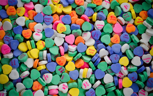 Candy is a sweet gift