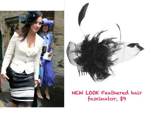 NEW LOOK hair piece, $9, at NewLook.com