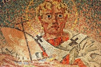 A mosaic of Saint Nicholas from Turkey