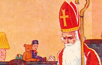 Saint Nicholas was a 4th century Bishop