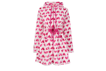 Hearty hooded robe, $20, at PEACOCKS.CO.UK