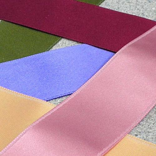 Satin ribbons add a feminine edge