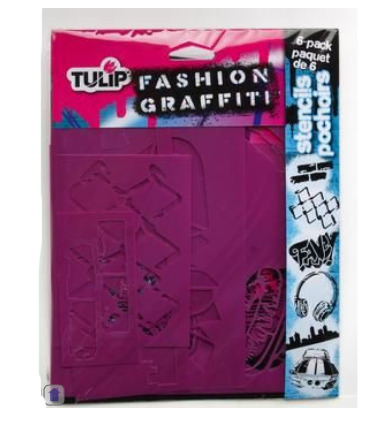 Fashion Graffiti Stencils