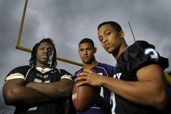 Top 5 High School Football Players of 2011