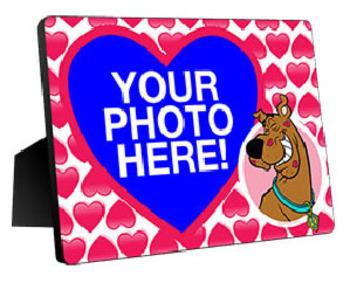 Scooby-Doo Valentine's Day Custom Photo Panel