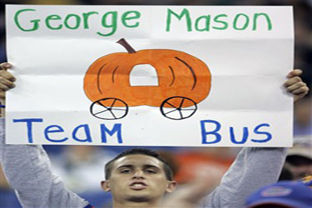 George Mason Basketball Fan