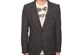 Tweed Herringbone Blazer, Forever 21, $42.90