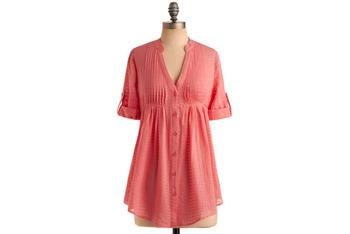 Sorbet tunic, $34, at ModCloth.com