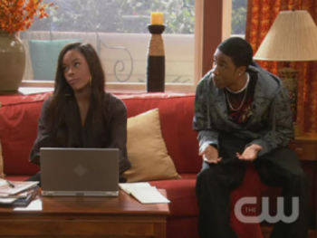Kendré in the sitcom Girlfriends, courtesy of The CW