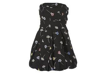 Daisy print dress, $24, at NewLook.com