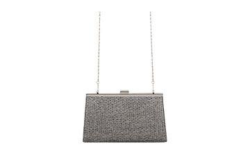 Metallic basketweave clutch, $12.80, at Forever21.com