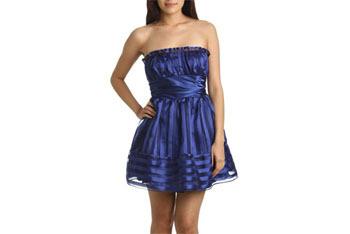 Shadow stripe tube dress, $79, at Ardenb.com