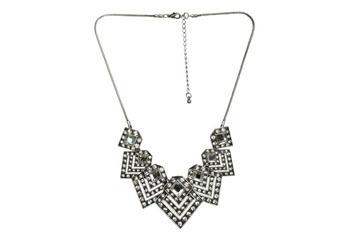 Geometric stone necklace, $29, at Ardenb.com