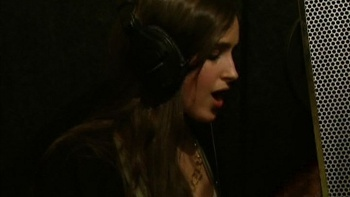 Kelli is a natural in the studio!