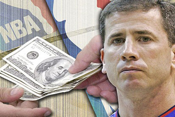 Tim Donaghy fixed basketball games