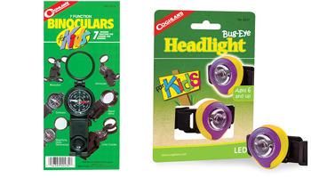7-Function Binoculars and Bug-Eye Headlight
