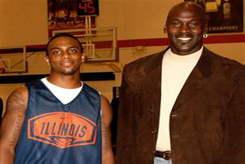 Marcus Jordan is lucky to have one great coach