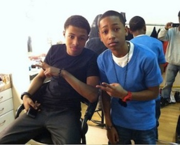 You can hear Diggy and Jacob together on the song Like Em All
